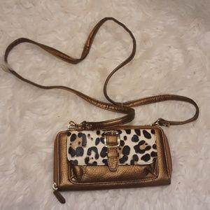 NEW Buxton leopard crossbody